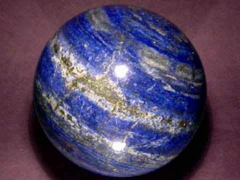 Spiritual Elementz Reiki Healing Lapis Lazuli Crystals Gemstone Sphere Ball (40-50mm).