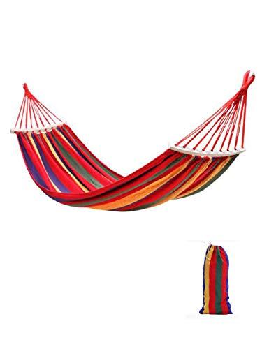 UWY Hamaca, hamacas, Hamaca de jardín, Hamaca portátil, Hamaca de Tela, 200x150 CM Capacidad de Carga 150 kg