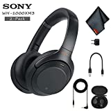 Sony WH-1000XM3 Wireless Noise-Canceling Over-Ear Headphones (Black) - Includes - 2-Pack