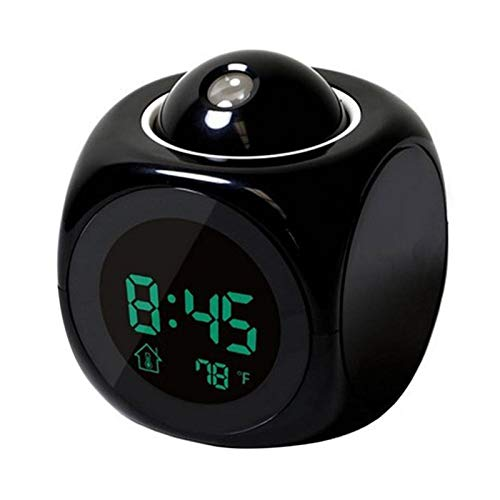 De proyección LCD, pantalla LED alarma reloj tiempo