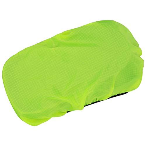 VOSAREA 2pcs Regenschutz für Fahrradtasche Satteltasche Lenkertasche Mountainbike Rennrad Staubdicht Wasserdicht Hülle Abdeckung Grün