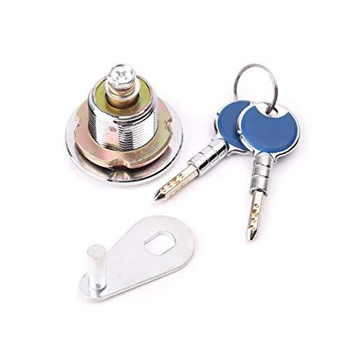 SXCXYG Bombin Cerradura Súper Seguridad Caja de Seguridad antirrobo Bloqueo con Claves de cifrado de Cobre Cilindro Cerraduras Antibumping