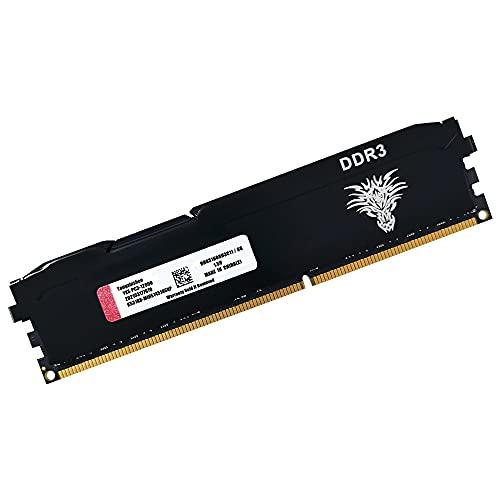 DDR3 Módulo Desktop, DDR3 (8GB) 1600Mhz (Black), 8 Gb