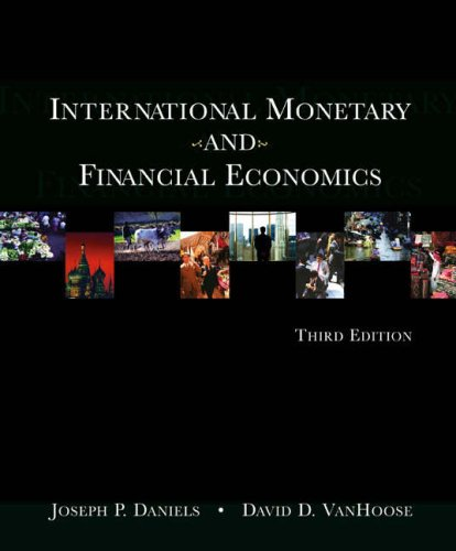 International Monetary And Financial Economics With Economic Applications