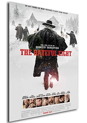 Instabuy Poster The Hateful Eight - Theaterplakat (A3 42x30)