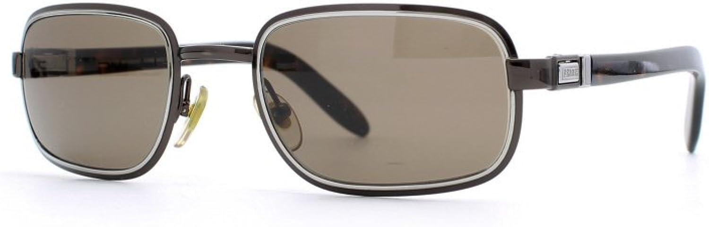 Gianfranco Ferre 468 8JU Brown and Silver Authentic Men  Women Vintage Sunglasses