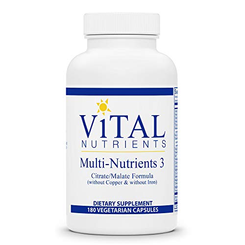 Vital Nutrients Multi Nutrients III Citrate Malate 180カプセル 海外直送品