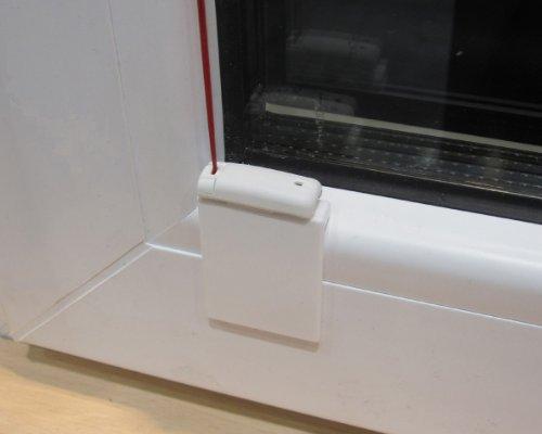Stick & Fix Front - Klebeplatten für Plissees bei schmalen oder abgerundeten Glasleisten - Montage ohne Bohren - (4 Stück)