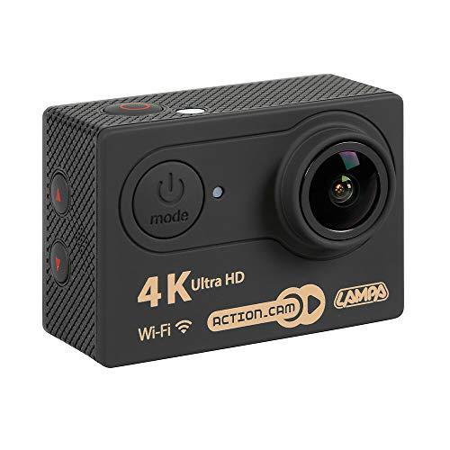 Lampa 38866 Action-Cam 3, Telecamera 4K con Telecomando e Kit Accessori