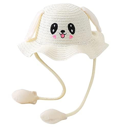 Maythere Cappello con Orecchie Che Si Muovono, Cappello con Orecchie Coniglio Bambino, Simpatico Cappello da Sole...