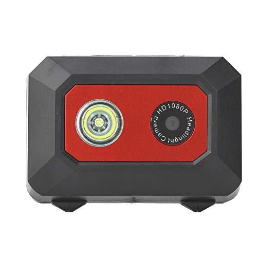 Diyeeni Action Cam 1080P HD Sport Camera Camcorder mit Kopfgurt, LED Taschenlampe, SOS Modus, Mini Nachtsicht Video Kamera Unterstützt TF Karte bis zu 32 GB…