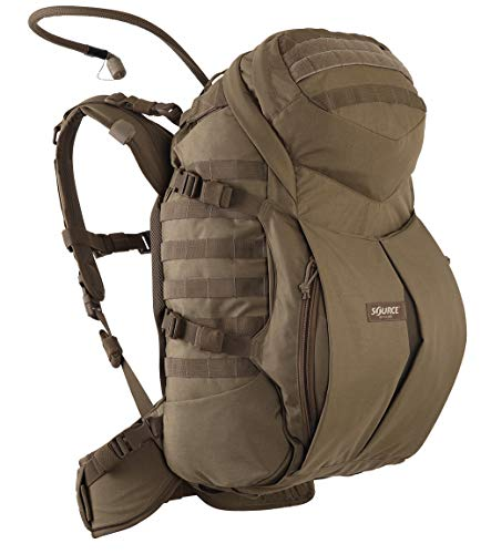 Source Double D Trinkrucksack, Coyote, 45 L + 3 Liter