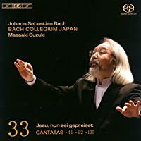 J.S. バッハ:カンタータ全集 Vol.33 (SACD Hybrid) [日本語解説・歌詞訳付輸入盤]