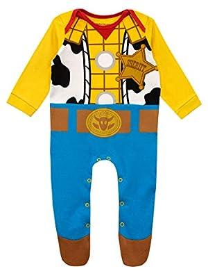Disney Pijama Entera para Niños Bebés Toy Story Multicolor 0-3 Meses