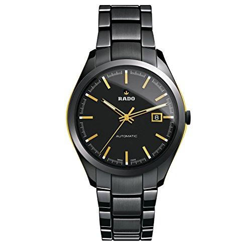 Rado Hyperchrome XL Black Dial Ceramic Automatic Ladies Watch R32253152