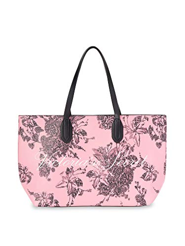 Victoria Secret 2020- Bolso , diseño floral, color negro
