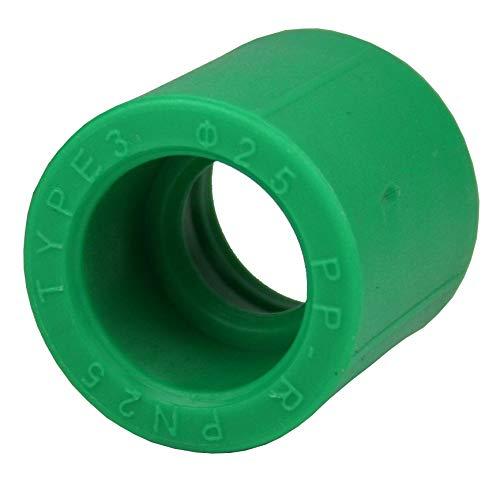5 x PPR Aqua Plus Muffe mit 25mm Durchmesser, Fusiotherm