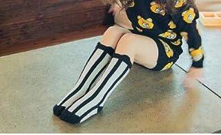 KAIBINY, KAIBINY Calcetines de arranque de Calentadores de la pierna del bebé de niños por mayor de dibujos animados de la rodilla alta chica totoro zorro calentadores de bebé del niño del algodón de impresión