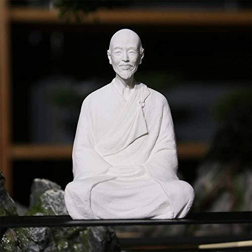 LSECE Simulación del Maestro Hongyi Estatua de Buda decoración rocalla Bonsai Paisaje pequeños Muebles Sala de Estar decoración de Estudio