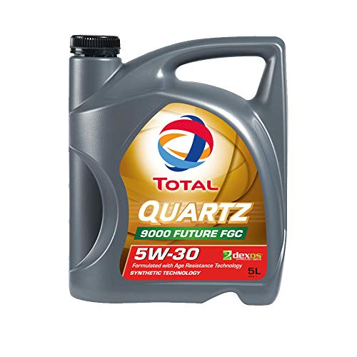 Total motorolie motorolie smering smeermiddel kwarts 9000 future Fgc 5W-30 5L 209056