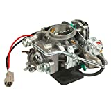 ALAVENTE 2 Barrel Carburetor for TOYOTA Corolla 4AF 1987-1991, OE Part No.: 21100-16540, 2110016540, Car Carb 2-Barrel Engine Carburetor Replacement (Automatic Choke)