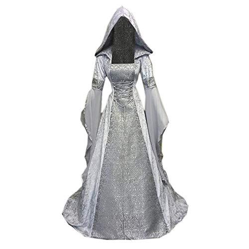 Vestido De Cosplay Gótico para Mujer Vestido De Novia De Estilo Retro...