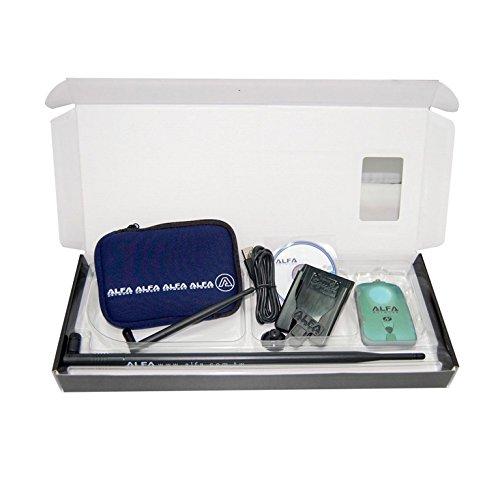 Alfa Network, AWUS036NH, NH-Luxury-Kit (WiFi-USB-Adapter + 9dBi-Antenne + Etui (U-Bag) + U-Mount-CS)
