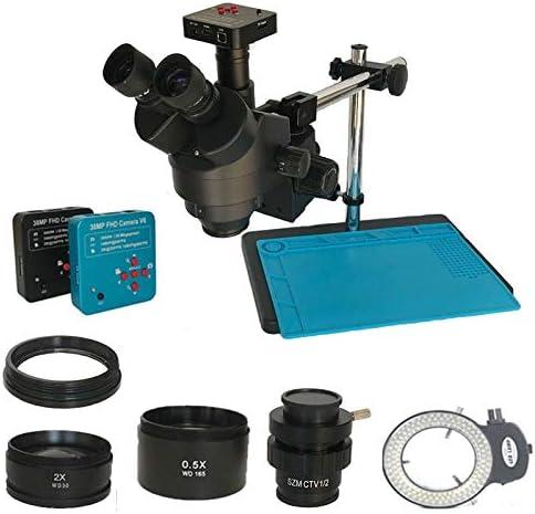 BINGFANG-W Microscopes 3.5X-90X Simul New Shipping Free Shipping Trinocular Focal Now free shipping Mi Stereo