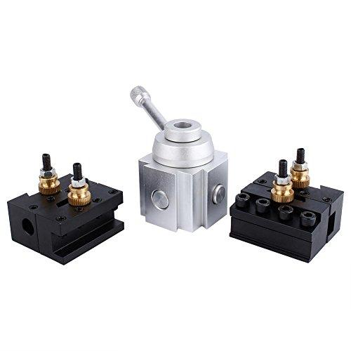 Zuiger-snelwissel-gereedschaphouder, snelwissel-gereedschapspalen - lemmethouder-kit set voor 7 x 10/12/14 universele draaimachines EB Boeddha-draaimachine mini-draaimachine staal materiaal