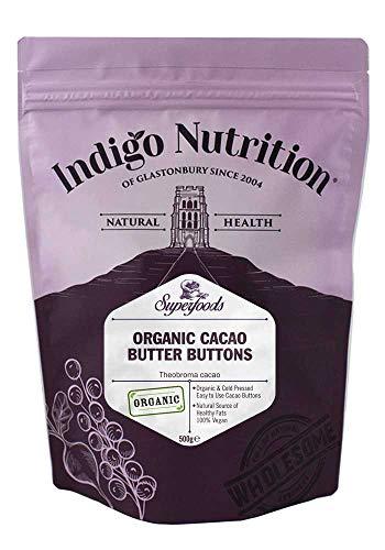 Indigo Herbs Bio Cacao Boter Stukjes 500g