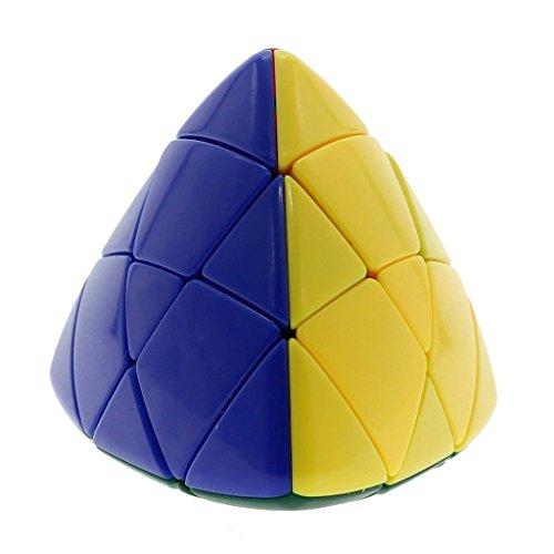 Shengshou Pyramorphix cubo mágico 3x3 Twist rompecabezas Inteligencia desarrollo juguete