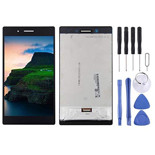 Reparación renovación por Teléfono Pantalla LCD y digitalizador Conjunto completo para la pestaña Lenovo 3 7 pulgadas / 730 / TB3-730 / TB3-730X / TB3-730F / TB3-730M Accesorio ( Color : Black )