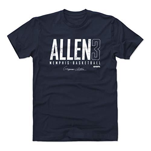 500 LEVEL Grayson Allen Shirt (Cotton, Large, True Navy) - Memphis Men's Apparel - Grayson Allen Memphis Elite WHT
