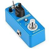 Donner Pedal de Efectos Compresor para Guitarra Sonido Opción de Normal y Treble True Bypass