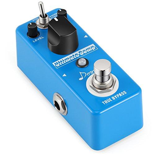 Dare, pedale effetto compressore per chitarra elettrica a