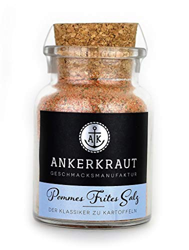 Ankerkraut Pommes Frites Salz, 130g im Korkenglas
