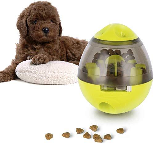 YOMI Hundefutterball, Tiernahrungsspender Spielzeug IQ Treat Interactive Feeder Balls Intelligentes Puzzle-Spielzeug Für Hunde Und Katzen