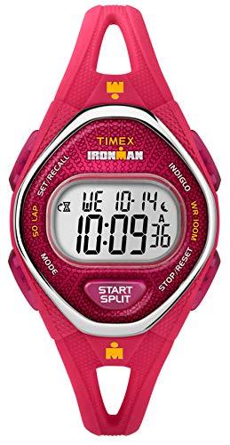 Timex Reloj Digital para Mujer de Cuarzo con Correa en Silicona TW5M10700