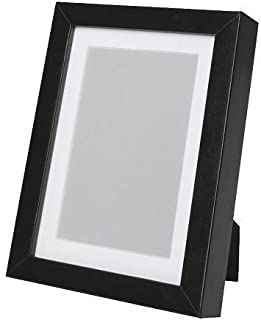 comprar comparacion Marco RIBBA, negro, tamaño 21 x 30 cm, para A4 tamaño Visario grabara sin el soporte usado. El soporte favorecen la imagen...