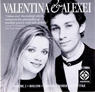 Valentina Lisitsa and Alexei Kuznetsoff, duo-Pianists Volume 2 play Bolcom: Recuerdos / Debussy: En Blanc et Noir / Weber-Godowsky: Invitation to the Dance / Schnittke: Gogol Suite