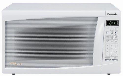 Panasonic NN-H665WF Family-size 1.2 cu.ft. 1300 Watt Microwave, White