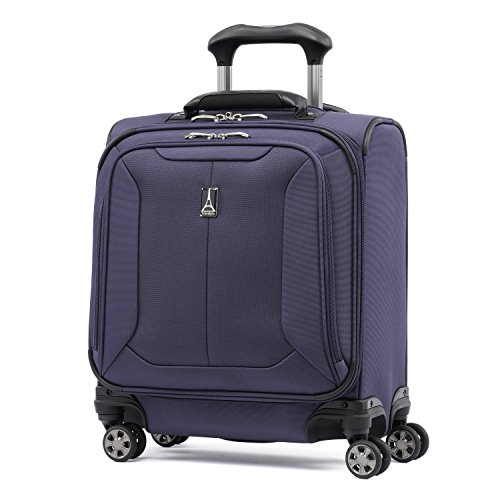 Travelpro Skypro Lite 17' Expandable 8-Wheel Carry On Spinner Compact Boarding Bag (Navy)