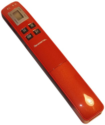 Review Of Pandigital Hand-Held Wand Scanner PANSCN10RD (Scarlet Red)