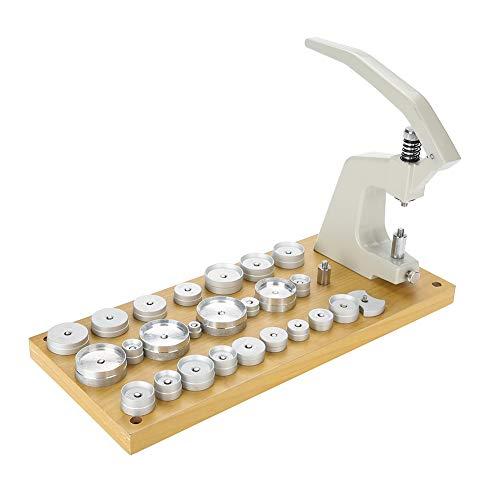 Back Case Press Machine, 5500-A Uhrreparaturwerkzeug mit 25 Matrizen Werkzeug zum Ersetzen der Batterie Zum Schließen der Uhr
