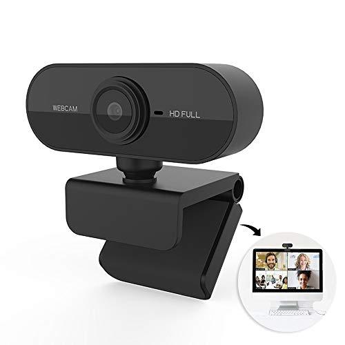 Webcam camera USB Full HD 1080P com microfone