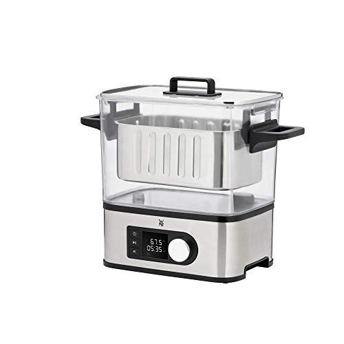 WMF Lono 2in1 Sous Vide Garer Pro mit Slow-Cook Einsatz (1500 W, Vakuum garen, S...