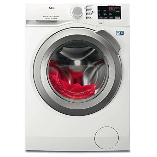 AEG L6FBI842N 8kg 1400rpm Freestanding Washing Machine - White