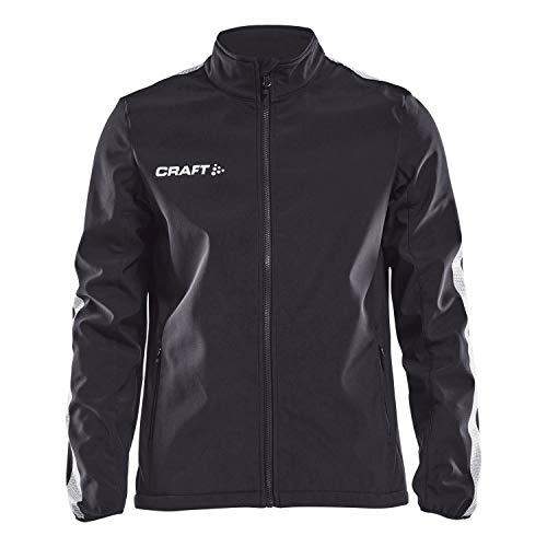 Craft Herren Softshelljacke Pro Control Softshell Jacket 1906722 Black/White L