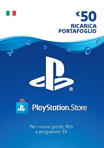 PlayStation Network PSN Card 50€ | Codice download per PSN - Account italiano