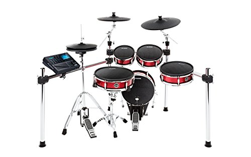 Alesis Strike Kit - Eight-Piece Professional Electronic Drum Kit with Adjustable Mesh Heads, 110 kits and over 1600 multi-sampled instruments
